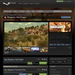 $20 USD Wargame Franchise Pack (Includes Wargame: Red Dragon) STEAM Midweek Madness