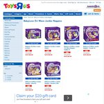 BabyLove Dri Wave Jumbo Nappies - WAS $26.99 NOW $22.99 (in Store or $9.99 Delivery) @ Toys R Us