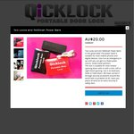 Power Bank 5600mah & 2 Portable Door Locks - $20 - ONLY 40 at this price- Free Shipping in AU