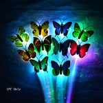 USD $2.49 Shipped for 2 Pcs LED Hair Braid Butterfly Shaped with Clip @MyLED.com