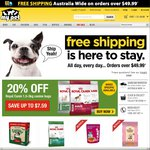MyPetWarehouse $10 off with Coupon. Minimum Spend $20