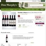 Penfolds Bin 128 2009 & Wynns Shiraz 2009 Cellar Release Six Pack $129, RRP $205 (Online Only) @ Dan Murphy's