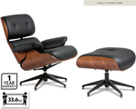 Replica EAMES Lounge Chair With Ottoman At Aldi $349