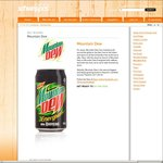 Free Cans of Mountain Dew Sydney CBD 11am-3pm From Schweppes