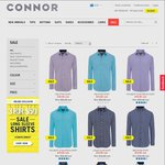 Connor: 3 for $50 Long Sleeve Sale Shirts – Online Only