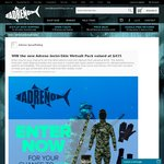 Win a Spearfishing Wetsuit Pack Valued at $435 from Adreno