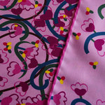 Laglio Pink Silk Scarf - $45 and Free Shipping @ Edwinpireh.com