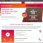 Telstra New MX $40 BYO 7GB Data 12 Months Contract (New Customers Only)