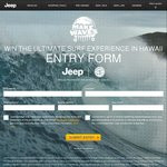 Win a Trip for 2 to Hawaii Worth $10,577.20 from Jeep