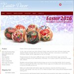 10% off on Easter Decorations in Russian Style at EasterDecor.com.au