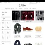 Saba Men & Women Clothing Sale Further 20% off