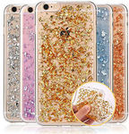 Glitter Bling Gold Foil Soft TPU Clear Cases for iPhone 6/6S/6 Plus/6S Plus/5S/SE- $6.99, Free Shipping @ Abimports on eBay
