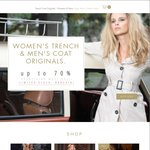 Further 10% off $35 Women's Winter Jackets (Original RRP $99+). P&H $10 @ Trench Coat Originals