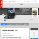 "Lenovo ThinkPad E460 Deal - $899 for i7-6500U, 14"" FHD, 8GB RAM, 1TB HDD, Radeon R7 M360"