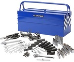 Millers Falls 130 Piece Metal Cantilever Toolbox Kit $59 Delivered (Was $129) @ Supercheap Auto Online