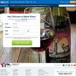 $100 off at Naked Wines on an Order over $159.99 of 12 or More Bottles - from $59.99 Delivered