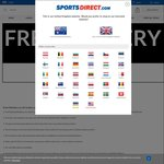 Sports Direct - Free Shipping via App (£10/AU $22 Min Spend)
