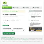 5% off Woolworths Travel Insurance