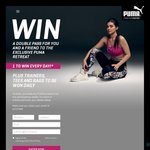 Win 1 of 27 Golden Door Health Retreats for 2 Worth $4,852 or a Share of 108 PUMA Trainers/Shirts/Bags from PUMA [With Purchase]