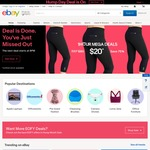 eBay 15% off Sitewide with Min $75 Spend (10pm - 2am)