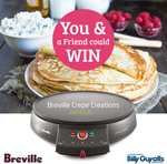 Win 1 of 2 Breville Crepe Creations™ Crepe Makers Worth $69.95 from Billy Guyatts