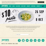 $10 Pasta from The New Spring Menu at Jamie's Italian + Kids Eat Free [SA/NSW/WA/QLD/ACT]