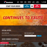 Domino's Free Upgrade to Premium Pizza (Today Only)