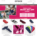 Friends & Family 30% off Sitewide @ CROCS (Includes Clearance)
