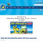 "Win 1 of 200 ""Hamish & Andy's Caravan of Courage - AUS Vs NZ""- 2 x DVD disc set from Rent The Roo"