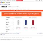 JBL Flip 4 Speakers $79.20, Logitech UE Wonder Booms $79.20, Sony MDR-XB650BT on-Ear Headphones $111 @ Myer eBay