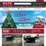 Rays Outdoors $10 off Spend of $100 or More