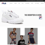 At Least 50% off Sitewide + an Extra 10% Using Code @ Fila