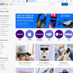 20% off 48 Selected Tech Sellers @ eBay