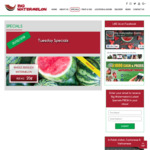 [VIC] Whole Seedless Watermelon for $0.20 Per Kg @ Big Watermelon, Wantirna South - Tues Feb 20 Only