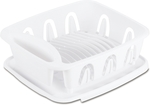Seymours Medium Dish Drainer w/Drain Board - White $6.50 (Was $12) @ Bunnings