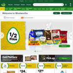 [SYD] Shop Online at Woolworths to Earn 2000 Points (=$10) on Your Next Delivery (Sydney Restricted Postcodes)