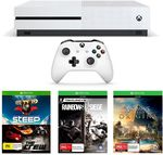 Xbox One S 1TB with Assassin's Creed: Origins + Rainbow Six Siege + Steep & The Crew $329.95 C&C $352.24 Delivered @ TheGamesmen