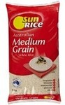 ½ Price: SunRice Medium Grain Rice 5kg (Brown Rice | White Rice) $6.80 @ Coles
