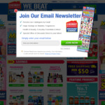 Chemist Warehouse $5 Discount (No Min Spend) + up to 4% Cashback through ShopBack