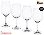 Spiegelau Crystal Glasses 4pk (Champagne, Red or White Wine Glasses) ($14.99) ALDI Special Buys 23/05