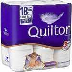 Quilton 3ply Toilet Tissue 18pk | Emporia 3 Ply Toilet Tissue 24 Pack $7 each @ Big W