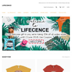 20% off T-Shirts | Phone Cases | Stationery and More @ Lifecence