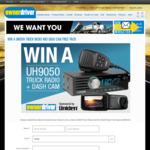 Win a Uniden UH9050 Truck Radio and IGO CAM 60 Dash Cam Valued at $599.90 from Bauer Media