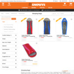Explore Planet Earth Adults Sleeping Bags Starting from $54.90 with Free Shipping @ Snowys, Rated at -5°