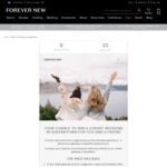 Win a Queenstown Getaway for 2 Worth $4,700 from Forever New