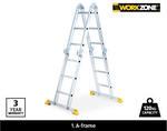 Multifunctional Aluminium Ladder $149 @ ALDI