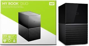Western Digital WD 20TB My Book Duo Desktop (Re-Certified) US