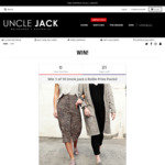 Win 1 of 10 Watch & Shoe Prize Packs from Uncle Jack/Rollie Nation