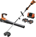 AEG 18V Brushless Line Trimmer and Blower Kit $350 (Bonus 18V 6.0Ah FORCE Battery via Redemption) @ Bunnings