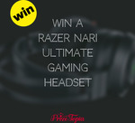 Win a Razer Nari Ultimate Gaming Headset from Prize Topia